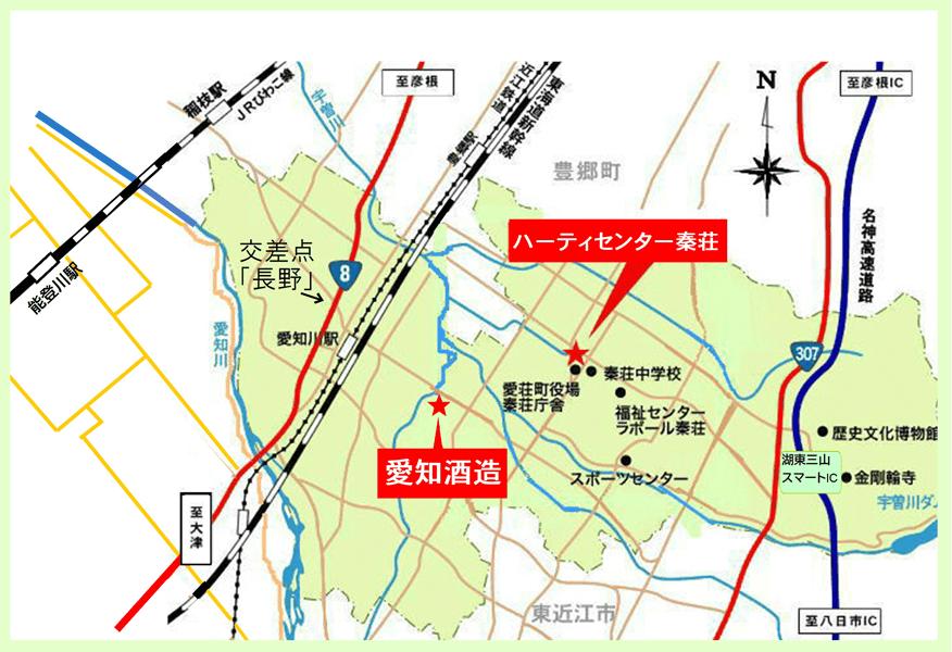 コンサート会場地図
