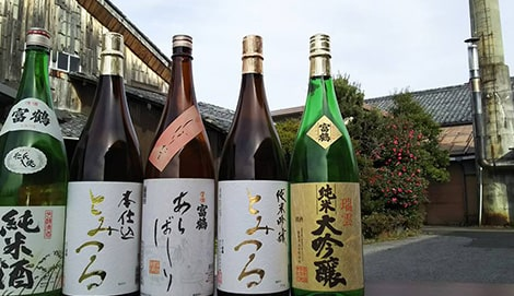 写真:日本酒 富鶴 一升瓶